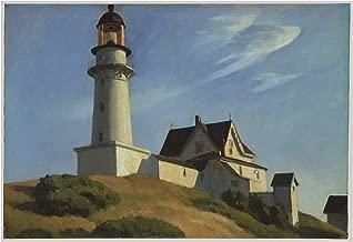 Spiffing Prints Edward Hopper - Lighthouse at Two Lights - Small - Matte - Unframed