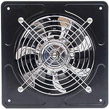 Extracteur D'air, Salle De Bain Extracteur D'air Ventilateur solaire, ventilateur d'échappement de fenêtre étanche étanche...