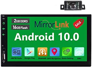 Double 2 Din 7 Zoll-Auto-Stereo-GPS-Navigationssystem in der Schlag-Head Unit Android 6.0..