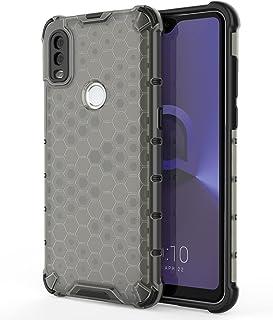 Phone Case Klart fall för ALCATEL 1V (2020), Transparent bikaka 360 full kropps täckning hårt PC + TPU Stockt skyddande te...