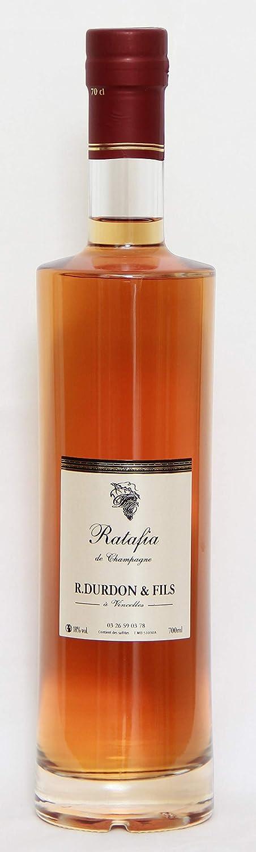 Genuine Champagne Ratafia 18% vol, aperitivos típicos de Champagne, 1 botella de 70cl.