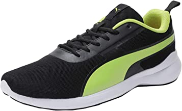 Puma Men's Pacer Styx Idp Black-limepunch Sneaker