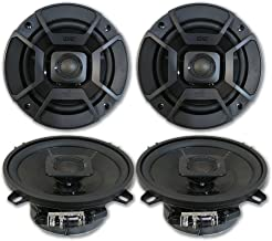 "4 x Polk Audio 5.25"" 2-Way Car Audio Boat Marine ATV UTV Audio Coaxial Speakers 5-1/4"" photo"