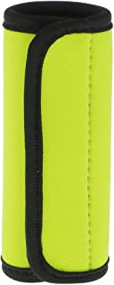 Prettyia 1 X Neoprene Luggage Handle Wrap Identifier Comfort Wrap Fluorescent Yellow