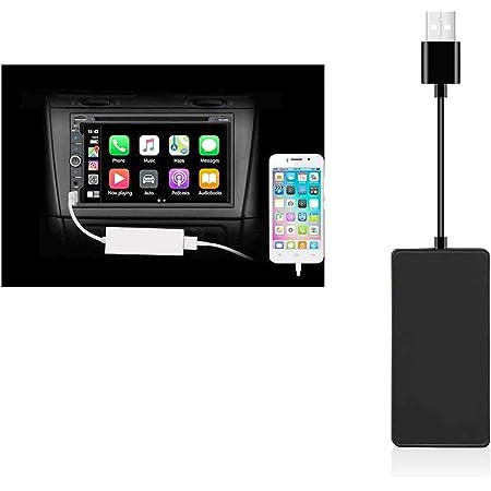 Carplay Dongle Mit Android Head Unit Installation Der Autokit App Im Auto Für Autos Mit Android Auto System 4 0 Und Höher Schwarz Navigation