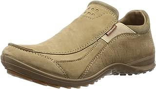 Woodland Men's OGC 3007118_Khaki Leather Loafers-6 UK (40 EU) (7 US) 3007118KHAKI