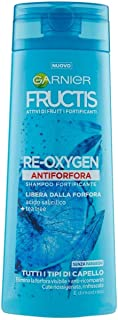 Garnier Shampoo Fructis Rigenera Antiforfora, Antiforfora e Antibatterico, 250 ml