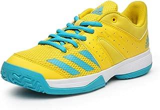 Adidas wucht Junior Yellow Badminton Shoe for Kids