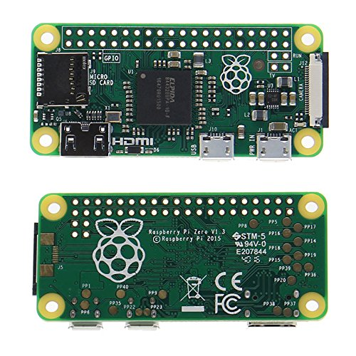 ILS - Raspberry Pi Zero 512MB RAM 1GHz Supporto CPU a un solo core Micro USB Power - scheda MicroSD con NOOBS