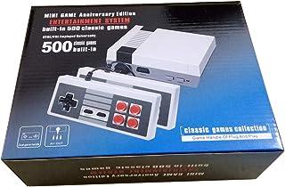 Retro Family Edition Mini Consola Construido 500 Videojuegos Salida AV Con Dos Controladores