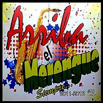 Siempre arriba el merengue (2011-2012CD)