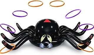 MeiGuiSha Halloween 50 Inch Huge Inflatable Spider Ring Toss Game