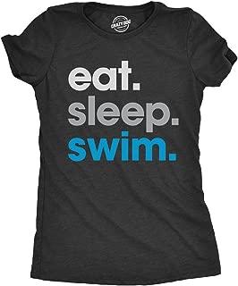 eat sleep swim t shirt