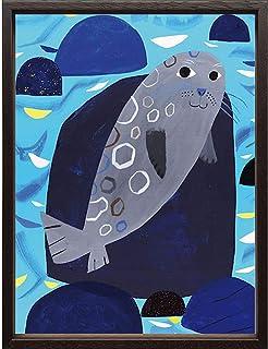 (アートフレーム) Scandinavian Art ワモンアザラシ (マッティ・ピックヤムサ)