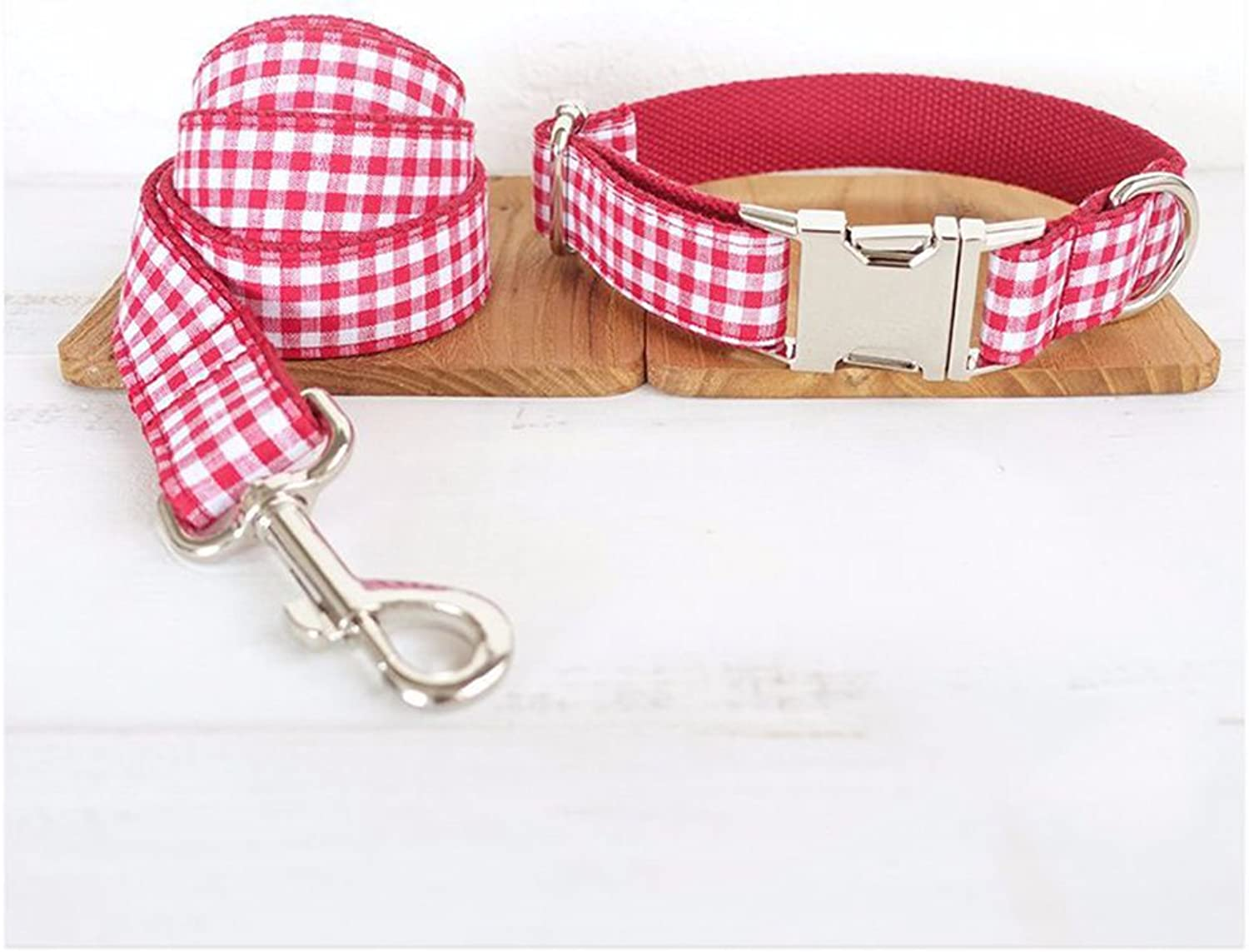 Collar for Dogs Easy to Wear Safe and Durable Personality Style Pet Collar Traction Rope XQ02914