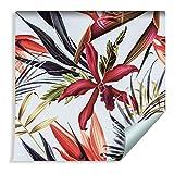Muralo Papier Peint Fleurs et Feuilles Tropicales Vinyle Botanique Moderne Nature - 636238409