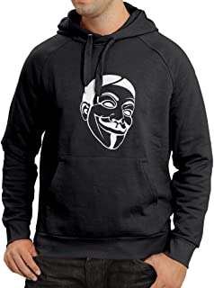 Unisex Hoodie Anonymous Freedom Fighters V for Vendetta Mask