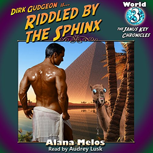 Riddled by the Sphinx audiobook cover art