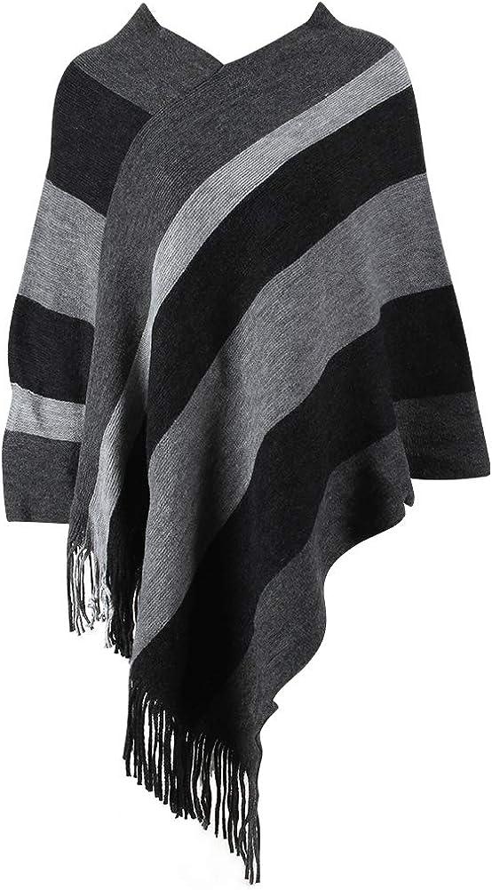 Women's Shawl Spring new work Wrap Poncho EMWM Soft Cozy Mail order cheap Winter Cardigan Pashmi