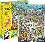 AQUARIUS 65361 Spongebob Squarepants Cast 1000 Pc Puzzle, Multicolor