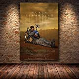 Cuadros Decoracion Sin Marco El Cartel Decoración Pintura De Death Stranding En Hd Pintura En Lienzo Cuadros De Arte Para Sala De Estar Póster De Juego (40X50Cm),Wkh-97
