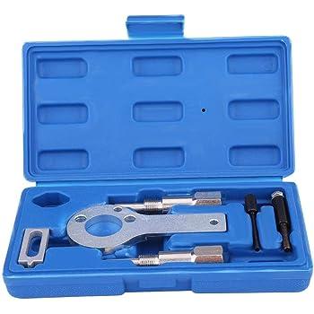 kit di cinghie di distribuzione motore da 8 pezzi Kit di strumenti di bloccaggio del volano a catena dellalbero motore Kit di strumenti di bloccaggio Set di strumenti di distribuzione universale