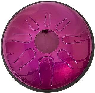 Idiopan Domina 12-Inch Tunable Steel Tongue Drum - Magenta