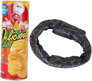 Lifelike Unique Prank Props, Potato Chip Snake, for Parties Halloween April Fool'S Day Kids