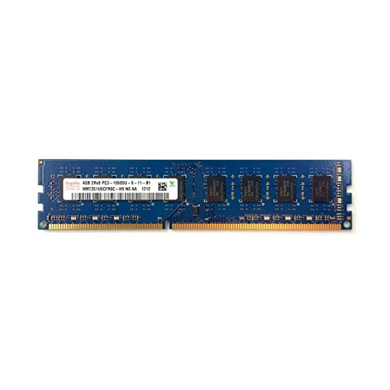 Hynix 4GB DDR3 PC3-10600 1333MHz CL9 1.5v -Pin Hynix HMT351U6CFR8C-H9 Unbuffered Desktop Memory ram