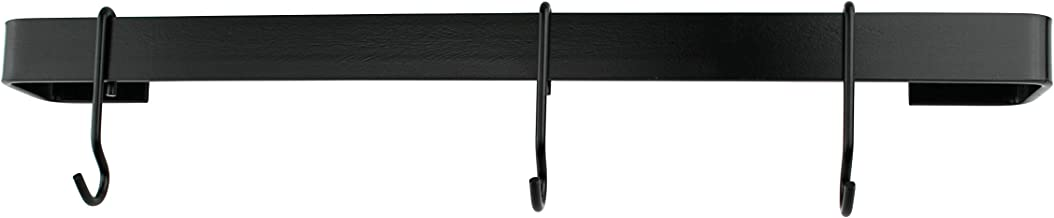 """product image for Enclume Premier 30"""" Utensil Bar Wall Pot Rack, One Size, Black"""