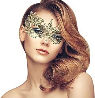 duoduodesign Exquisite Lace Masquerade Mask (Gold/Venetian/Soft Version)