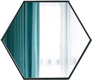 Espejo moderno para colgar en la pared con forma de diamante para baños aparador montado en la pared decoración del hoga...