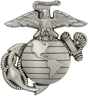 c1f777c0fc58 Indiana Metal Craft US Marine Corps EGA Solid Pewter Lapel Pin Made in USA.