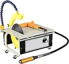 SIRUL Mini Kit de Sierra de Mesa, 1500 W multifunción joyería pulidora de Roca pulidora, 0-23000r / min Juego de máquina pulidora de Mesa, para Gema Metal carpintería,Polished Set Meal