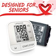 Blood Pressure Monitor Upper Arm – Accurate Automatic Digital BP Monitor with Large..