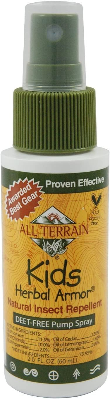 All Direct stock discount Terrain Kids trust Herbal Armor Insect Natural DEET-free Repellent