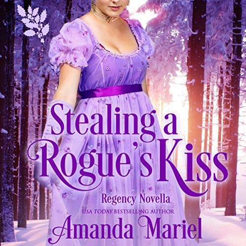 Stealing a Rogue's Kiss  audiobook cover art