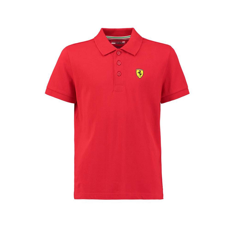 Ferrari Kids rojo Shield Logo Polo camisa, Rojo: Amazon.es: Deportes y aire libre