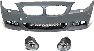 DNA Motoring BUMP-F-F10-M M-Tech Front Bumper+PDC+Fog Light [for 11-16 BMW 5-Series F10]