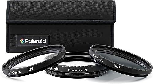 discount Polaroid Optics 37mm 3-Piece Filter Kit Set [UV,CPL, Neutral Density] Includes Nylon Carry Case – new arrival Compatible w/All Popular Camera Lens online Models. online