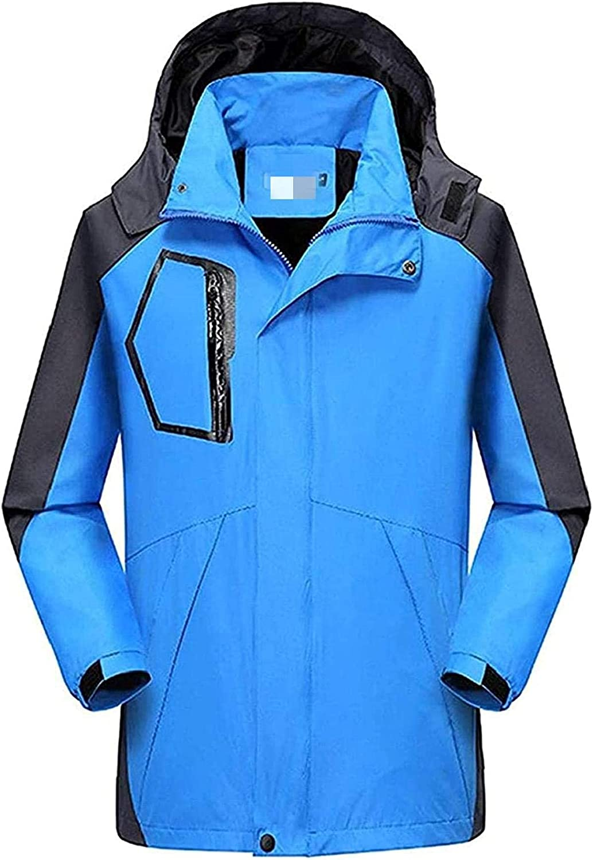 Men's Mountaineering Suit Breathable Waterproof Fishing Suit Lightweight Rain Jacket