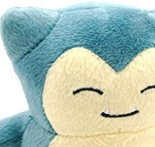 Stuffed Snorlax Figure Toy | Plush Animal Toys Gift Set for Babies and Newborns