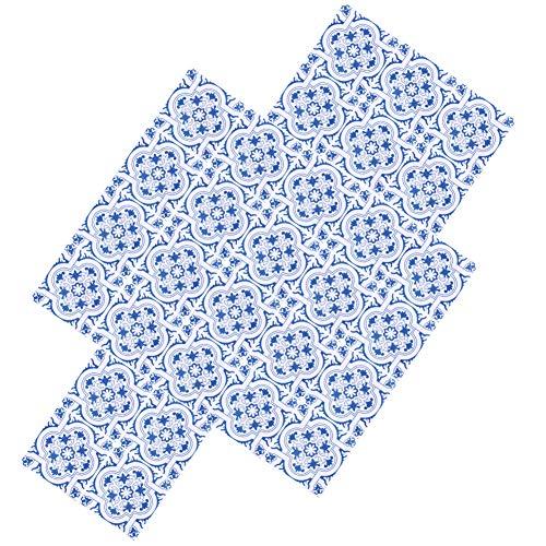 Jeanoko Pegatina de cocina, exquisita pegatina de pared de 10 x 10 cm, impermeable, para cocina, baño