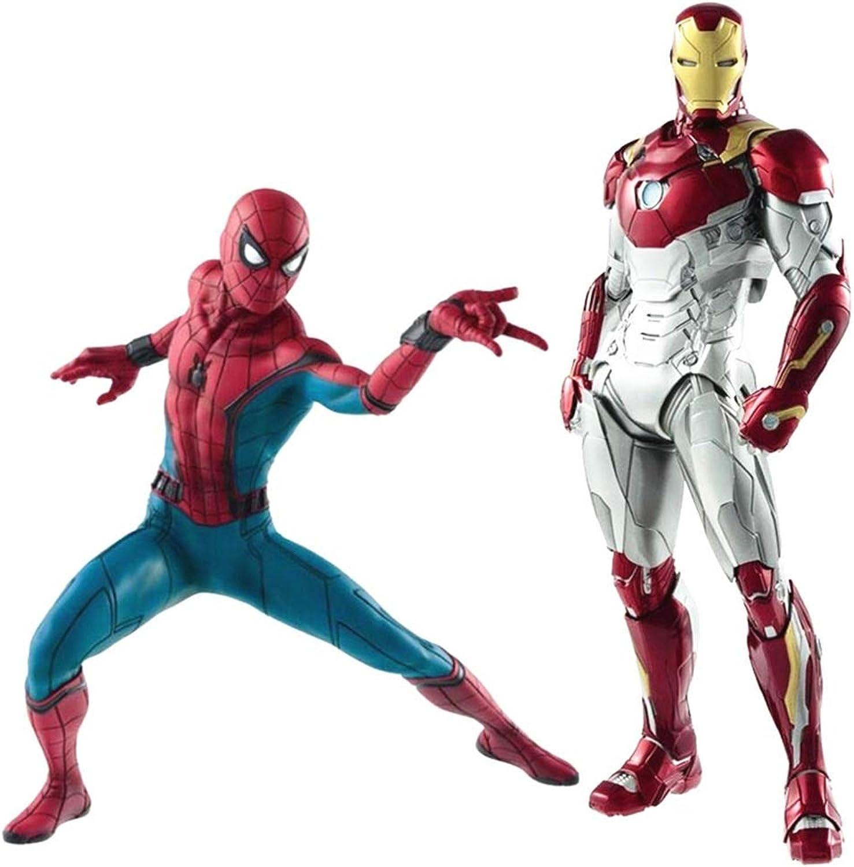 centro comercial de moda SSRS Avengers Spider-Man Juguete Hero regresa Iron Man Man Man MK47 Modelo Decoración Regalo de cumpleaños (Color   C)  Con 100% de calidad y servicio de% 100.