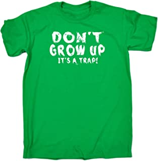 123t Kids Funny Tee - Dont Grow Up Its A Trap - Childrens Top T-Shirt T Shirt