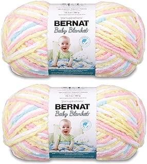 Bernat Bulk Buy Baby Blanket Big Ball Yarn (2-Pack) Pitter Patter 161104-04616