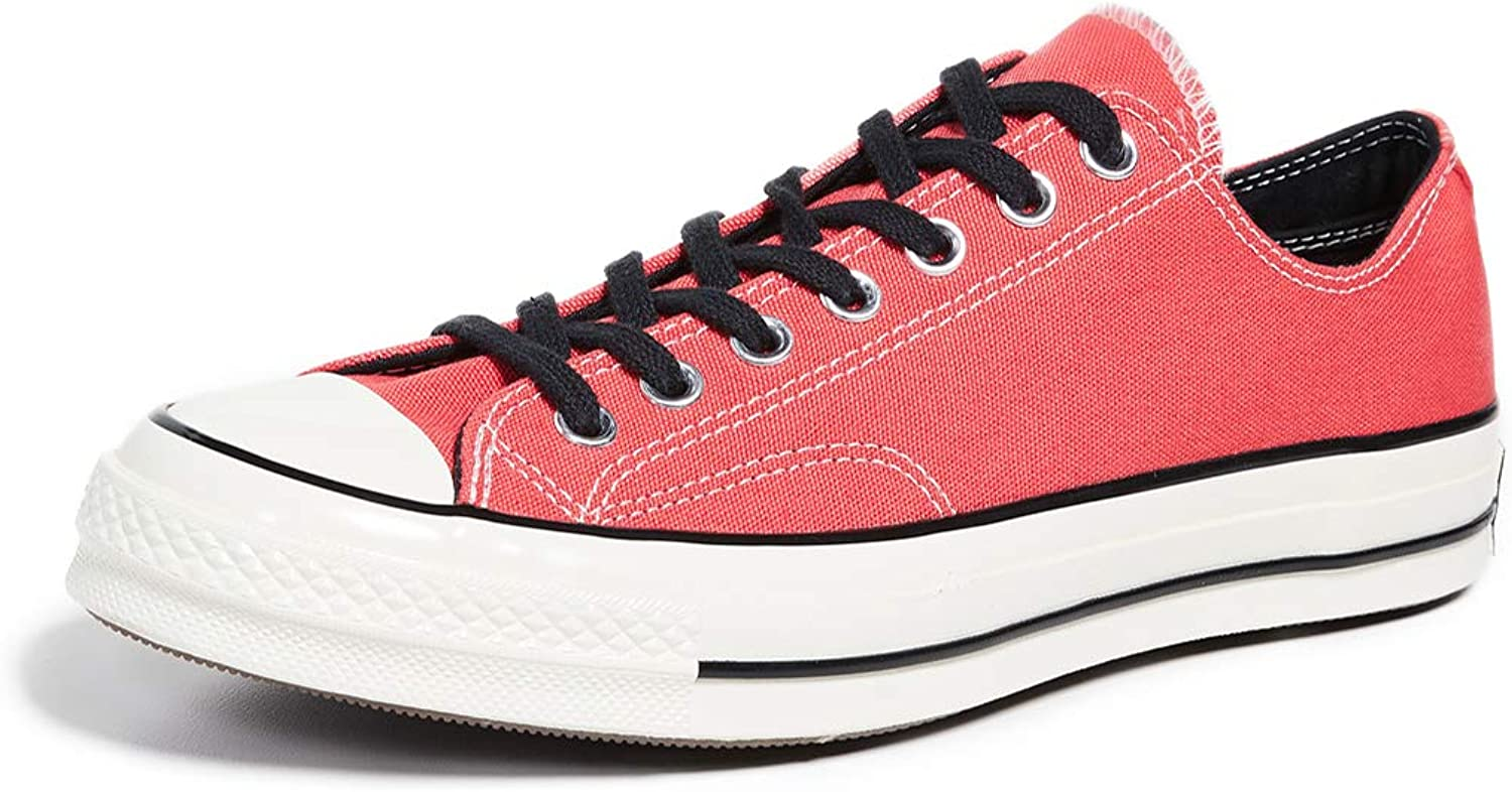 Converse Men's shoes, Colour Red, Brand, Model Men's shoes Chuck 70 OX Red
