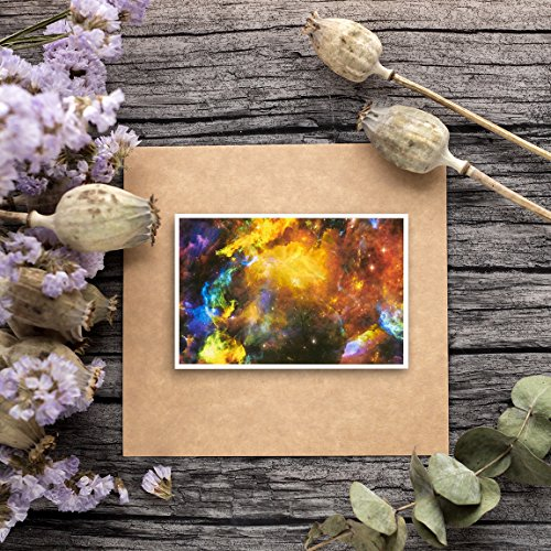 48 Pack All Occasion Greeting Cards - Assorted Blank Note Cards Bulk Box Set Cosmic Designs - Envelopes Included - 4 x 6 Inches Photo #8
