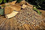Economo Wood Pellets Fire Starter Eco Friendly, Biodegreable Pellets (Brown, 1 kg)