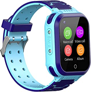jianyana Smartwatches T3, vattentät smartwatch, 2-vägssamtal, 4G smartklocka för barn med GPS-spårare, stöder SOS-samtal, ...